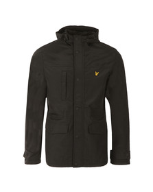 Lyle and Scott Mens Black Microfleece Lined Jacket
