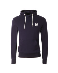 Good For Nothing Mens Blue Essential Overhead Hoody
