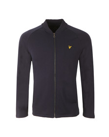 Lyle and Scott Mens Blue Seam Pocket Bomber