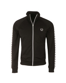 Fred Perry Sportswear Mens Black Laurel Wreath Track Top