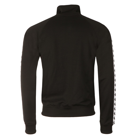 Fred Perry Sportswear Mens Black Laurel Wreath Track Top main image