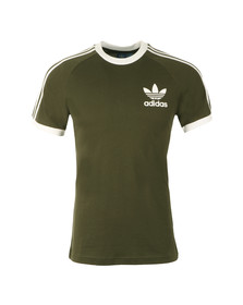 Adidas Originals Mens Green California SS Tee