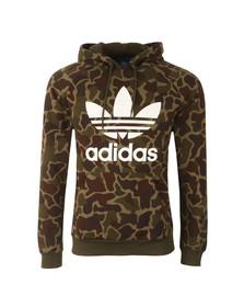 Adidas Originals Mens Multicoloured Camo Hoodie