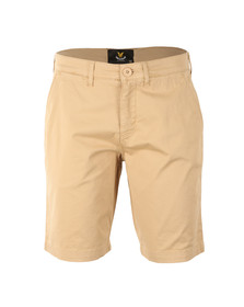 Lyle and Scott Mens Grey Garment Dye Short