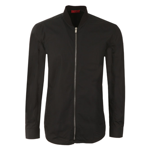 HUGO Mens Black Esuper Light Bomber main image
