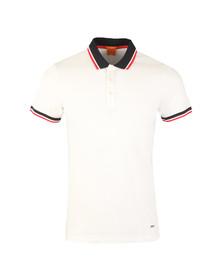 Boss Orange Mens White Pay Polo Shirt