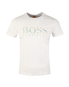 Boss Orange Mens White Tacket 1 Crew T-Shirt