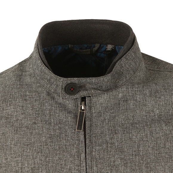 Ted Baker Mens Grey Apollo Mouline Bomber main image