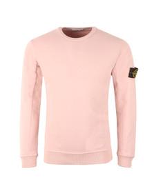 Stone Island Mens Pink Sweat Top