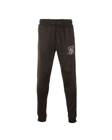 Sik Silk Mens Black Poly Tricot Cuff Pant