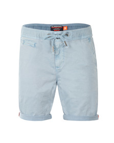 Superdry Mens Blue Sunscorched Beach Short