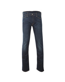 Levi's Mens Blue 504 Straight Fit Jeans