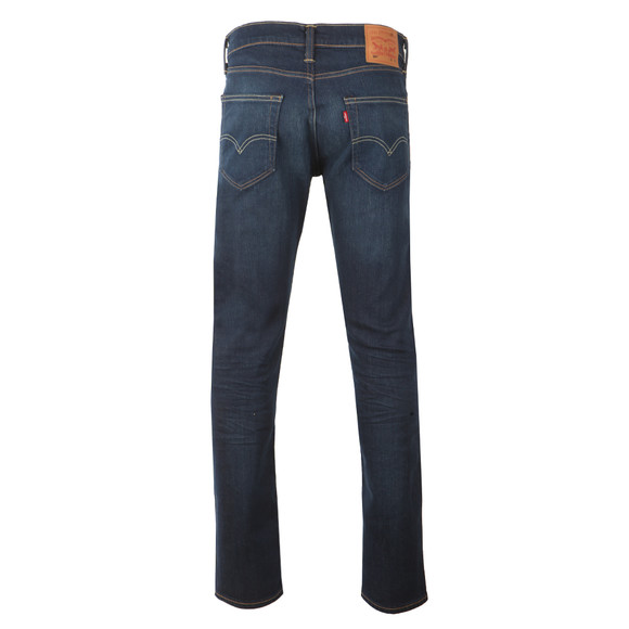 Levi's Mens Blue 504 Straight Fit Jeans main image