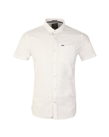 Superdry Mens White Ultimate S/S Oxford Shirt