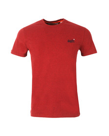 Superdry Mens Red Vintage Embroidered Tee