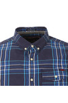 Superdry Mens Blue L/S Washbasket  Shirt
