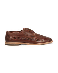 H By Hudson Mens Brown Anfa Shoe