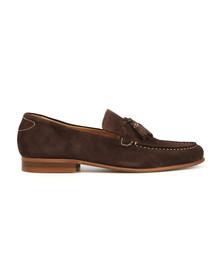 H By Hudson Mens Brown Bernini Slip On Loafer