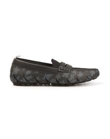 Vilebrequin Mens Black Marin Slip On Loafer