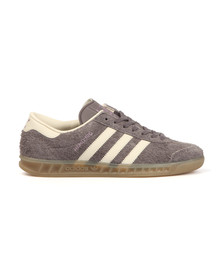 Adidas Originals Womens Grey Hamburg Trainer