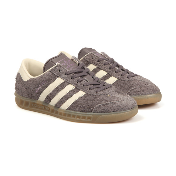 Adidas Originals Womens Grey Hamburg Trainer main image