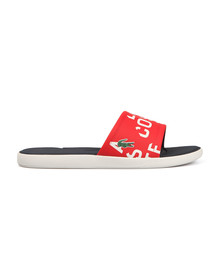 Lacoste Mens Red L.30 Slide