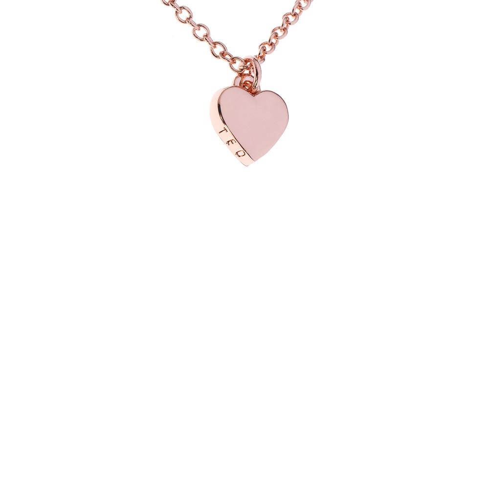 Rose Gold Hara Tiny Heart Pendant main image