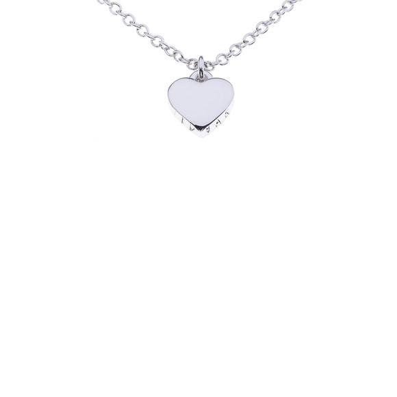 Ted Baker Womens Silver Hara Tiny Heart Pendant