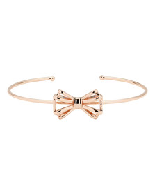 Ted Baker Womens Gold Sennya Sweetie Bow Ultrafine Bracelet