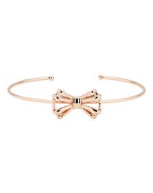 Ted Baker Womens Gold Sennya Sweetie Bow Ultrafine Bracelet