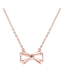 Ted Baker Womens Pink Signy Sweetie Bow Pendant