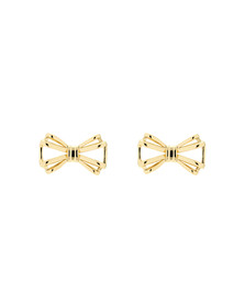 Ted Baker Womens Gold Sidony Sweetie Bow Earring