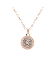 Ted Baker Womens Pink Emmalyn Enamel Big Button Pendant