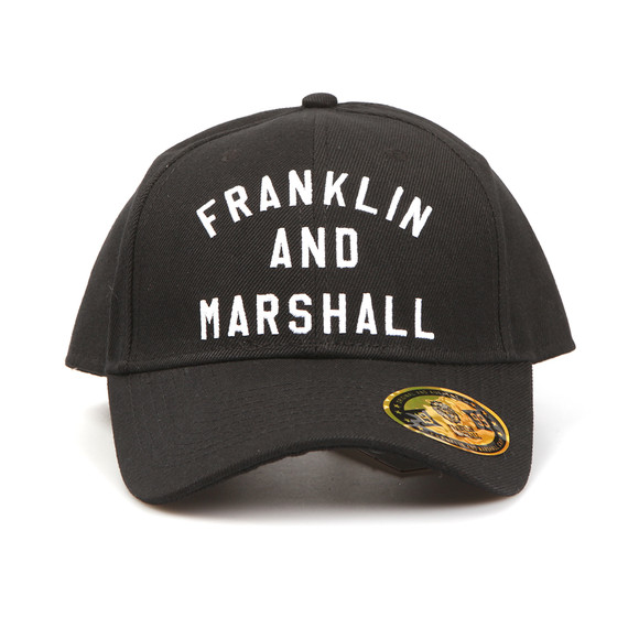 Franklin   Marshall Mens Black Embroidered Logo Cap main image d1c06f4b8d32