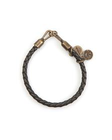 Diesel Mens Silver Asanty Bracelet