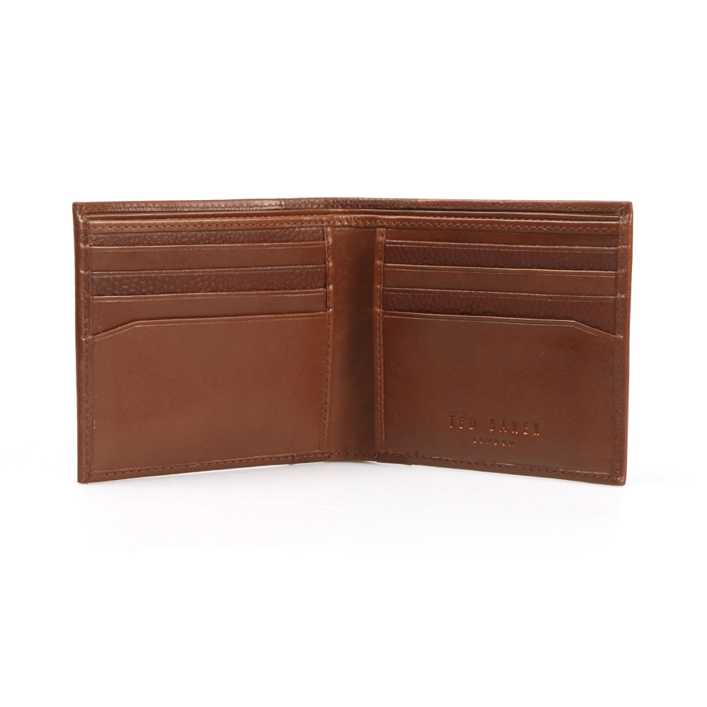 Contrast Spine Leather Wallet main image