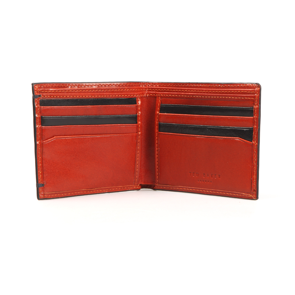 Aunat Bifold Contrast Leather Wallet main image