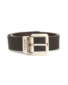 Diesel Mens Black B-Doublec Reversible Belt