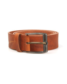 Diesel Mens Brown Whyz Belt