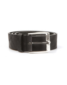 Diesel Mens Black Whyz Belt