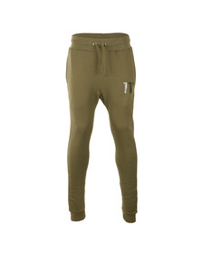 Eleven Degrees Mens Green Base Jogger