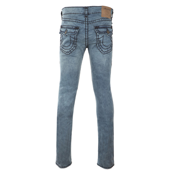 True Religion Mens Blue Rocco Super T Jean main image