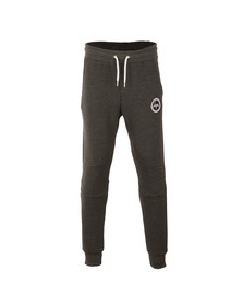 Hype Mens Grey Ribbed Joggers