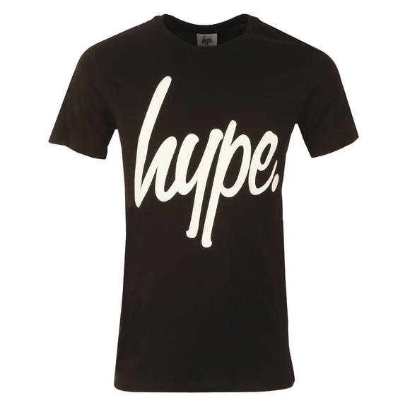 Hype Mens Black Hype Script T-Shirt main image