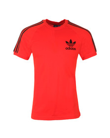 Adidas Originals Mens Red California SS Tee