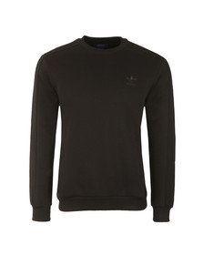 Adidas Originals Mens Black Crew Neck Sweat