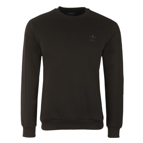 Adidas Originals Mens Black Crew Neck Sweat main image