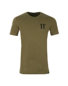 Eleven Degrees Mens Green Core T-Shirt