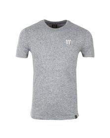 Eleven Degrees Mens Blue Composite Short Sleeve T-Shirt