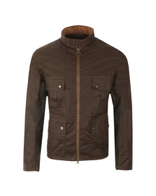 Barbour Steve McQueen Mens Green Chico Wax Jacket